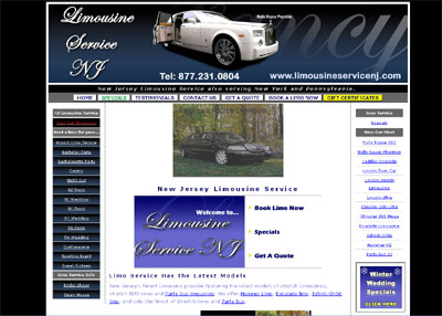 New Jersey Limousine Service